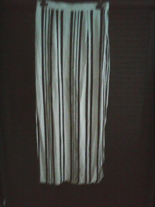Spódnica długa z rozporkami rozm M na lato