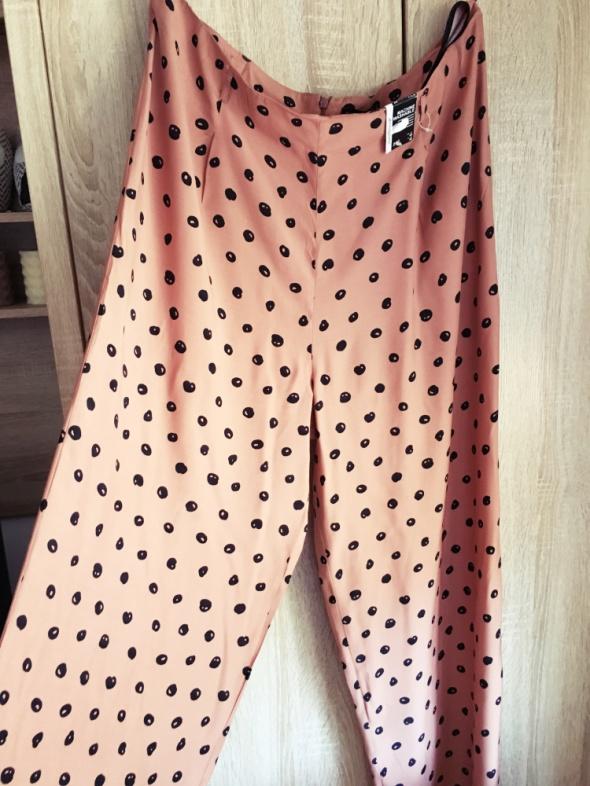 Spodnie szerokie groszki vintage 20