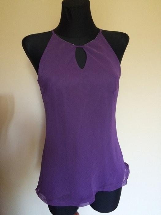 Bluzki Fioletowa bluzeczka