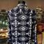 h&m bluzka koszulowa aztecki wzór casual 34 36