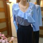 wiosna w kolorze blue