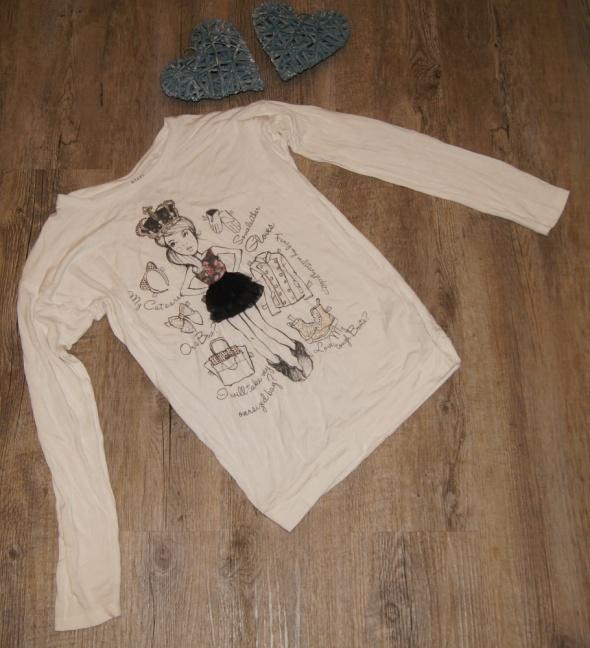 Bluzki Bluzka dziewczynka 3 D rozm 134 do 140