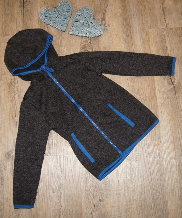 Bluzy Bluza chłopiec czerń rozm 116