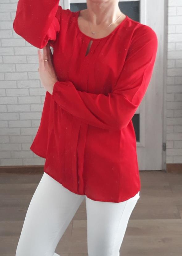 Anna field bluzka red