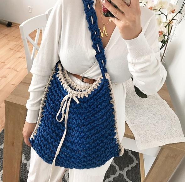Nowa piękna ręcznie robiona torba