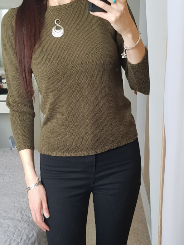 Sweter Khaki r S...