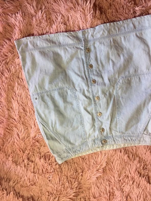 Spodniczka z guzikami Ralph Lauren