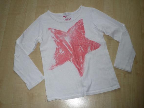 rozm 116 NEXT bluzeczka z gwiazdą