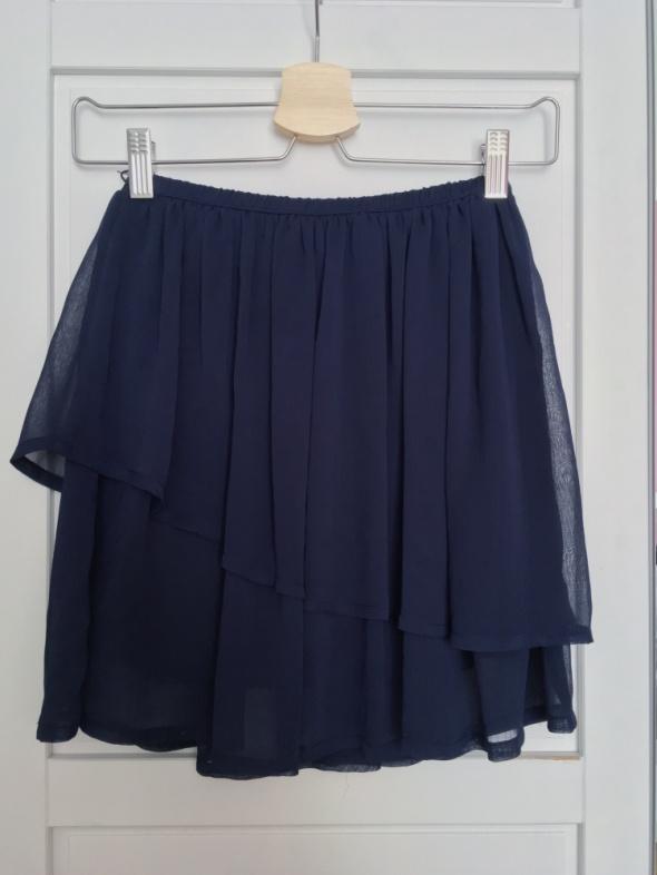 Granatowa spódniczka Pull&Bear