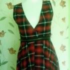 sukienka w kratkę ax paris