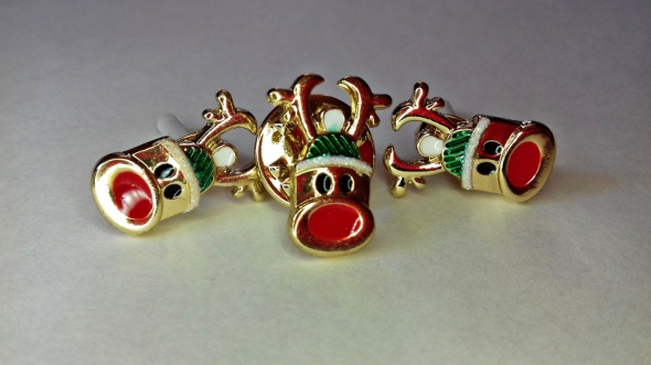 Świąteczny komplet biżuterii H&M Renifer