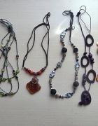 Zestaw modnej biżuterii sztucznej...