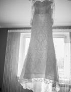 suknia ślubna długi welon 36 S