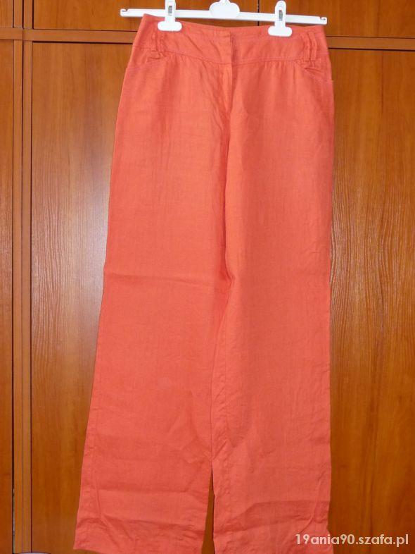 Lniane spodnie Monnari...