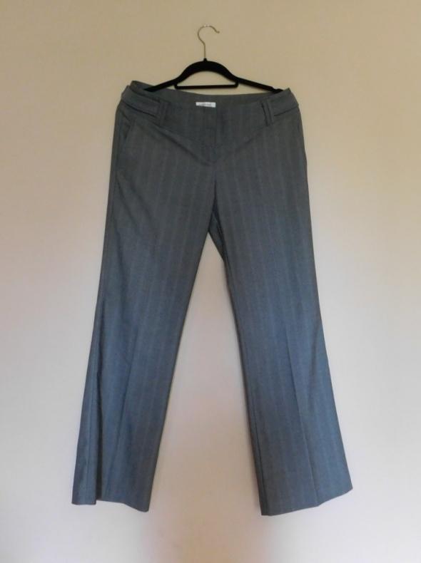 Orsay szare spodnie proste 40...