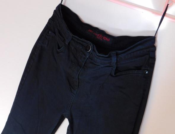 Papaya czarne rurki jeans skinny 38 40...