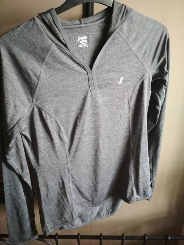 Bluza szara z kapturem Penn M sportowa