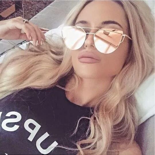 srebrne okulary przeciwsloneczne nowe hit