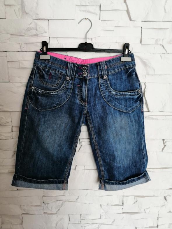 Krótkie jeansowe spodnie House of Denim 38 M