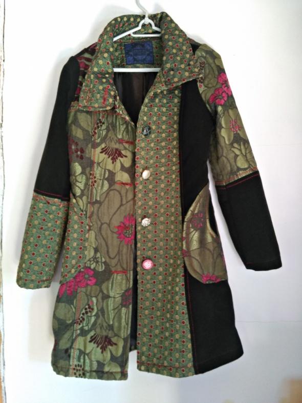 płaszcz boho styl na wiosnę