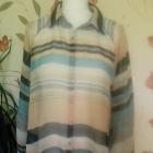bluzka pasy transparentna