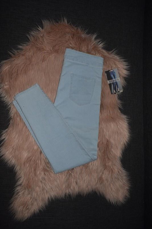 Reserved nowe jeansy rurki wysoki stan 40 L 12