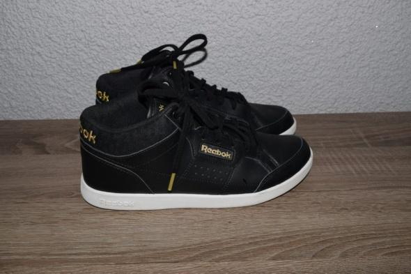 Sportowe Reebok czarne złote 39