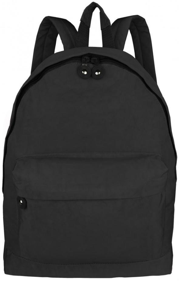 Plecak czarny szkolny klasyka