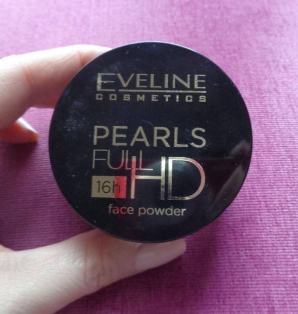 Bronzer w kulkach Eveline Pearls Full HD