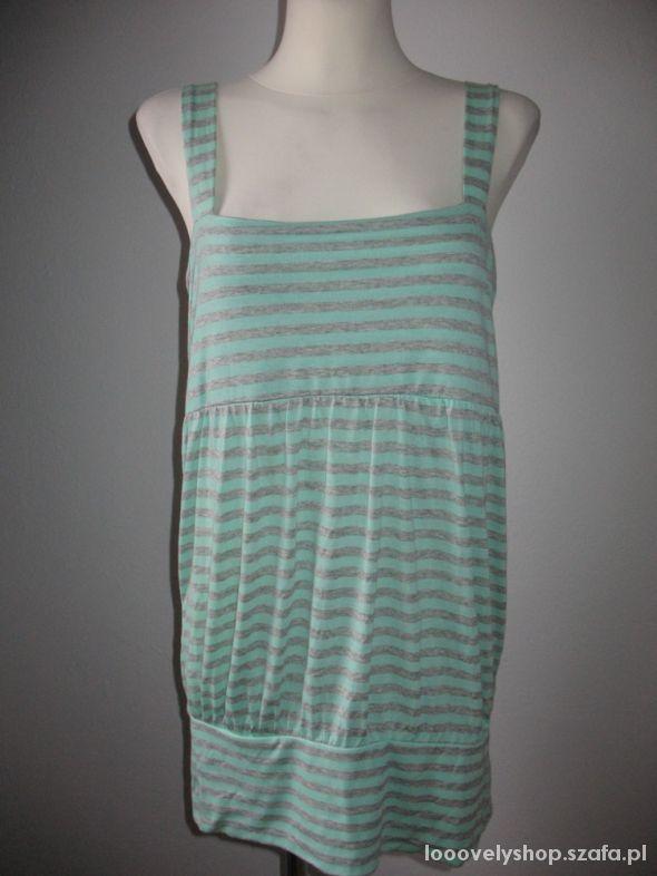 Bluzki Bluzka tunika w apski lato Ichi roz L