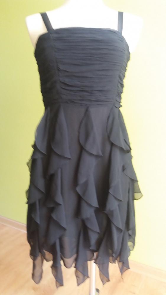szyfonowa sukienka 36