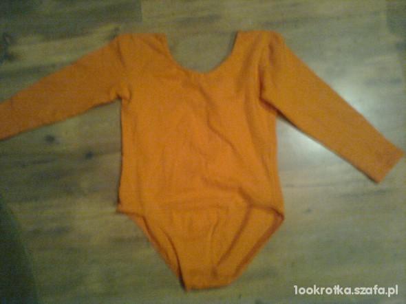 Pomarańczowe body