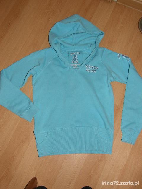 BUTIK ciepła sportowa bluza aplik styl college M