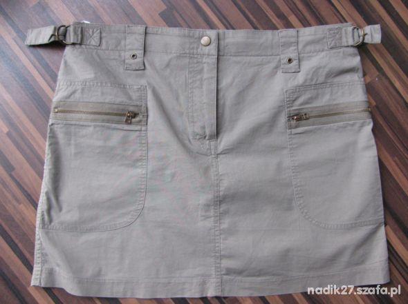 Spódnica khaki r 40