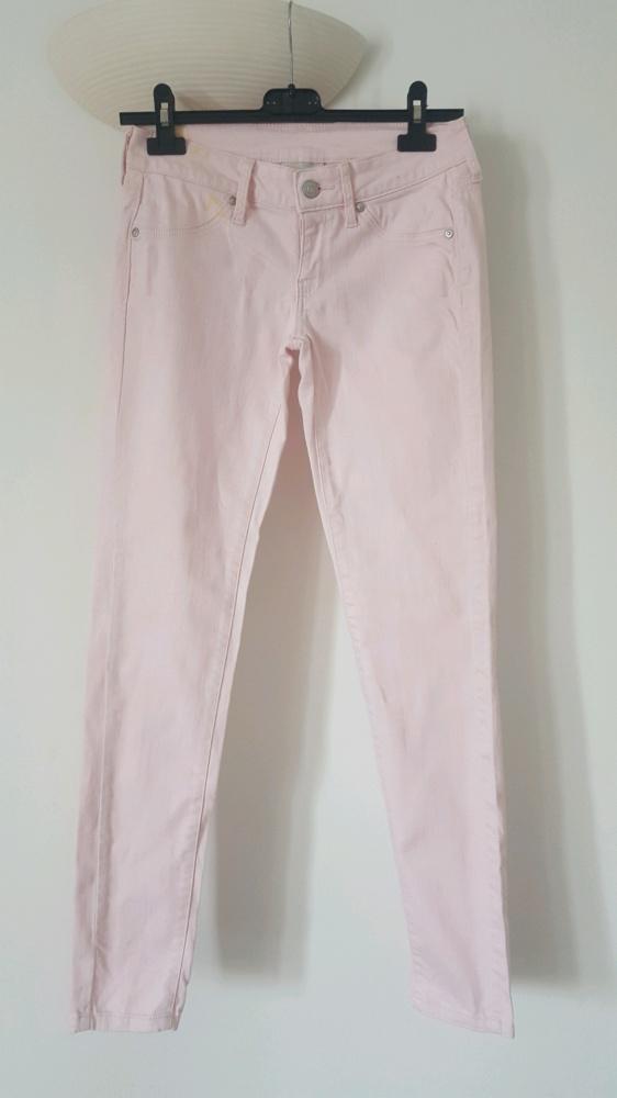Spodnie pudrowy róż