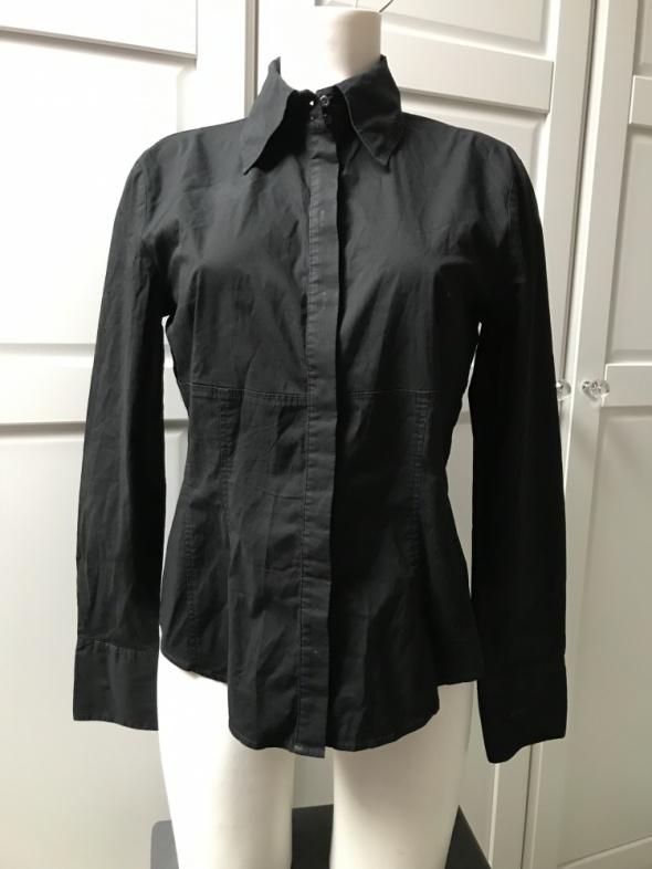 Czarna koszula ESPRIT zapinana na guziki