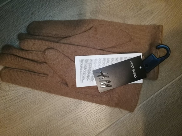 nowe Brązowe rękawiczki h&m