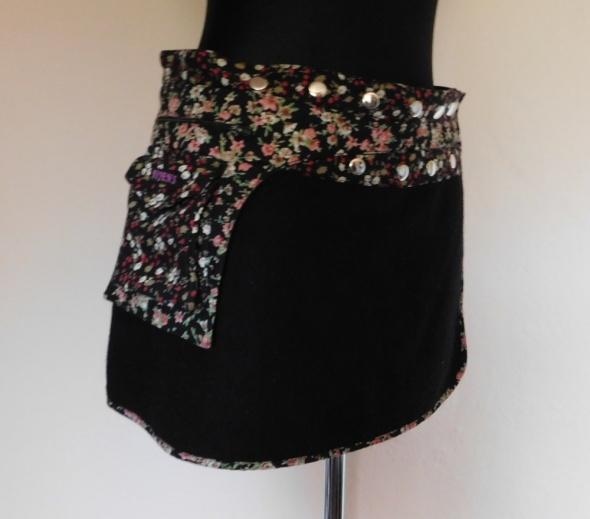 Moshiki & Nijens spódnica mini czarna 42