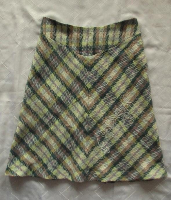 Arcitect for Popin ciepła spódnica w kratkę 38
