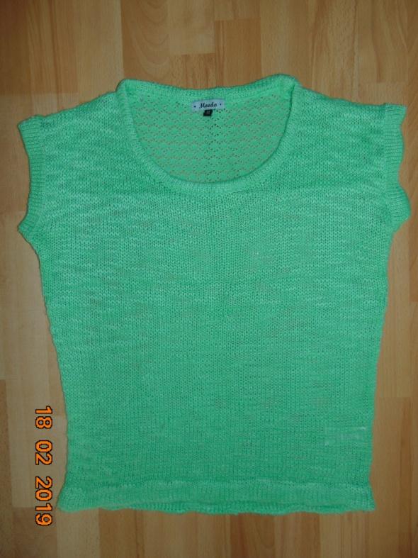 sweter limonkowy zielony...