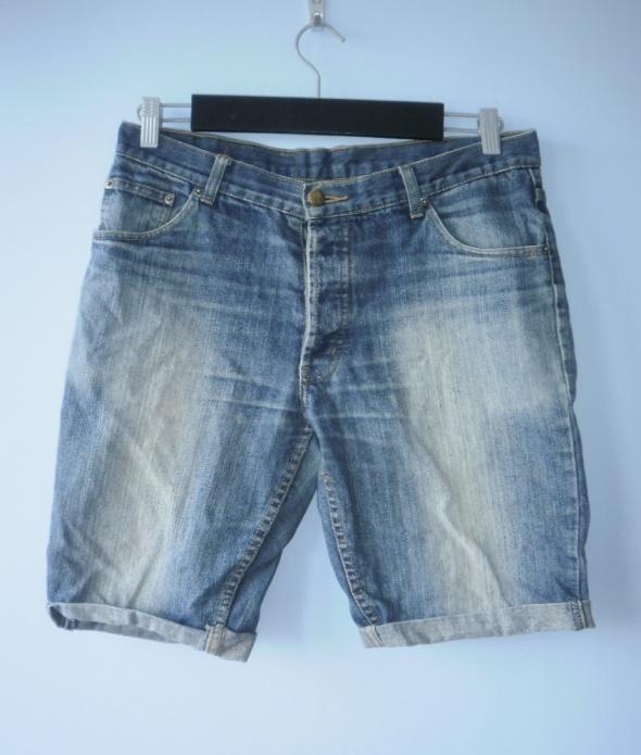 Cheap Monday męskie jeansowe szorty jeans spodenki...