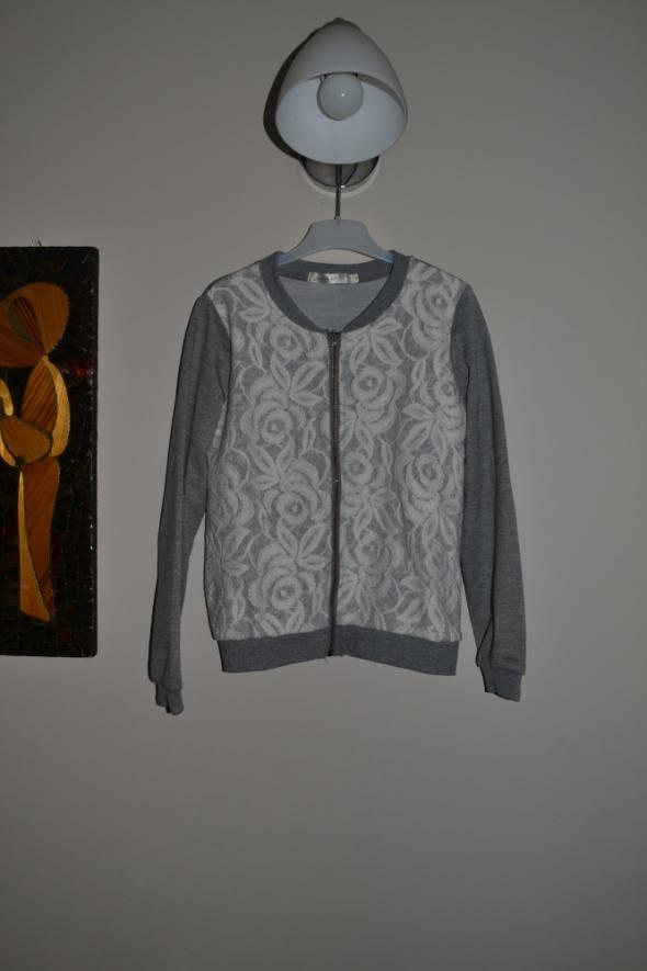 Szary sweterek Novo Style 122cm 128cm 134cm7 8 lat