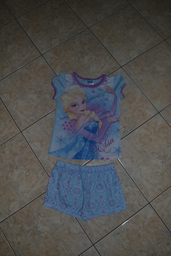 Bielizna dziecięca Piżamka Elsa Disney 7 8 9 lat 128cm 134cm