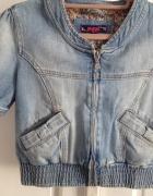 kurtka bomberka jeans S...