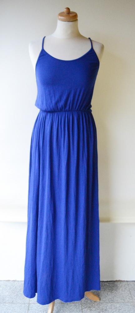 f3cca77d47 Sukienka Long Maxi M 38 HM Kobaltowa Długa w Suknie i sukienki ...