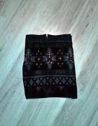 Spódnica aztecka dżety