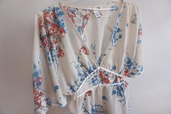 Piękna zjawiskowa bluzka styl Gucci Zimmermann XS