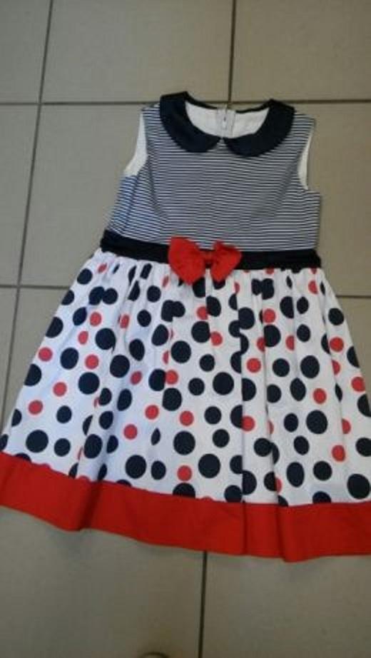 Kolorowa sukienka 128 ZUZA