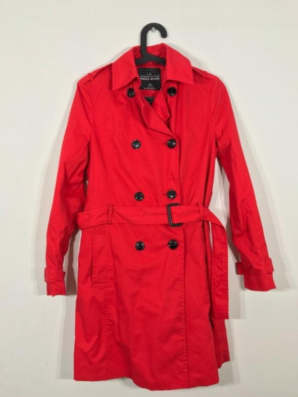 Odzież wierzchnia Czerwony płaszcz TALLY WEIJL 34