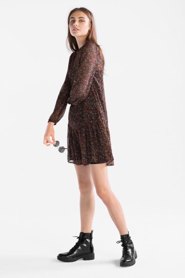 NOWA c&a sukienka z nadrukiem w kwiaty...